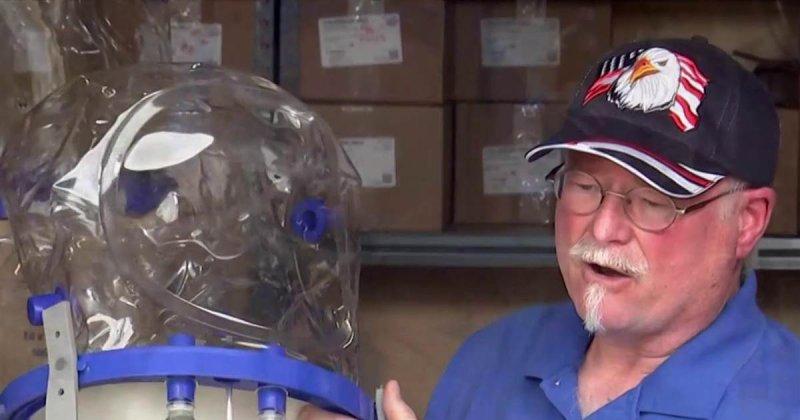 Helmet may aid as alternative amid ventilator crisis