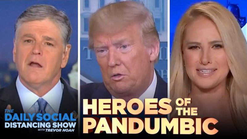 Saluting the Heroes of the Coronavirus Pandumbic | The Daily Show - YouTube